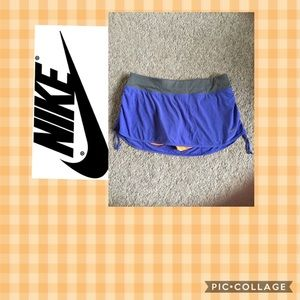 Nike skort size XL Dri-Fit zippered waist pocket